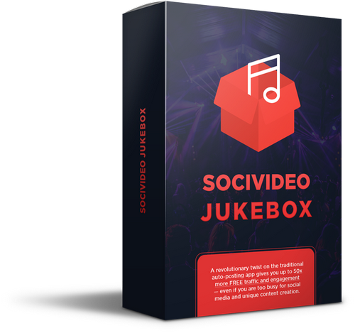 socivideo jukebox auto posting for facebook twitter