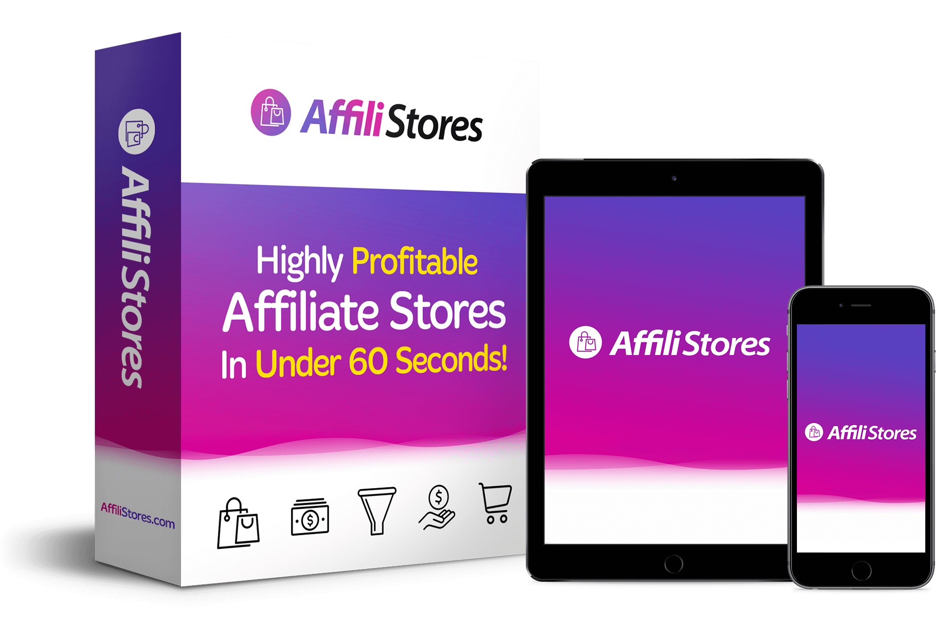 affilistores affiliate store builder software