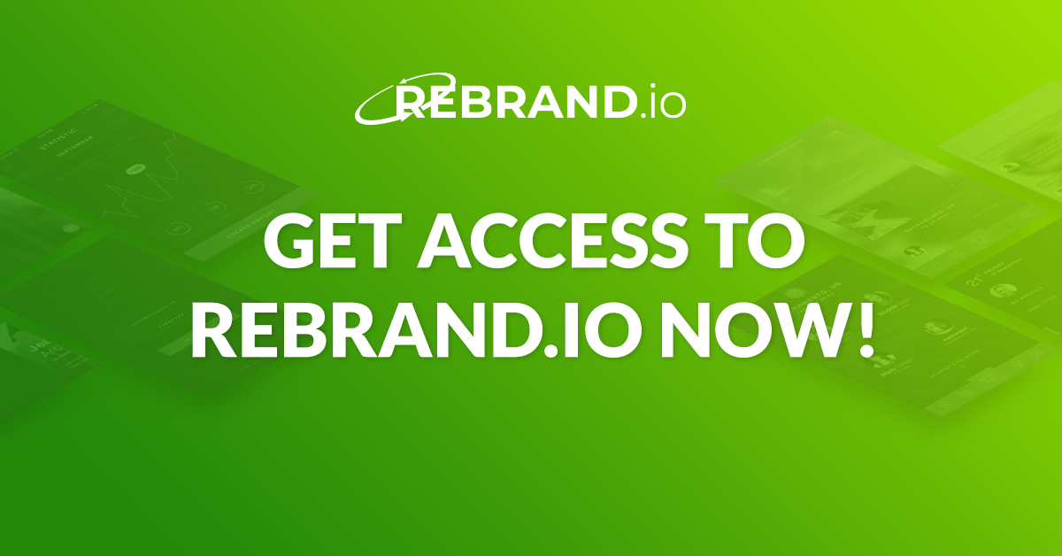 get access to rebrand.io