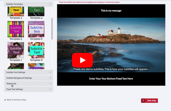 recastly subtitles for videos and video caption app