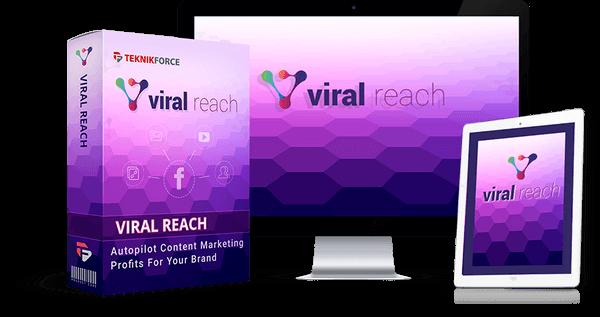 viral reach - Facebook content marketing app