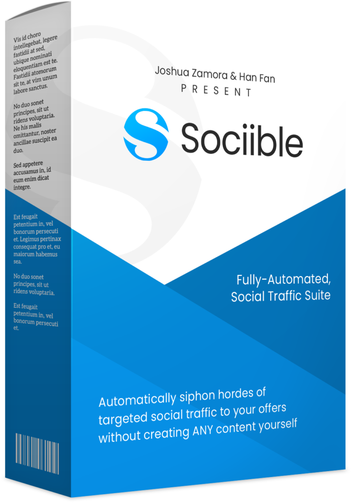 sociible pro - social media marketing system