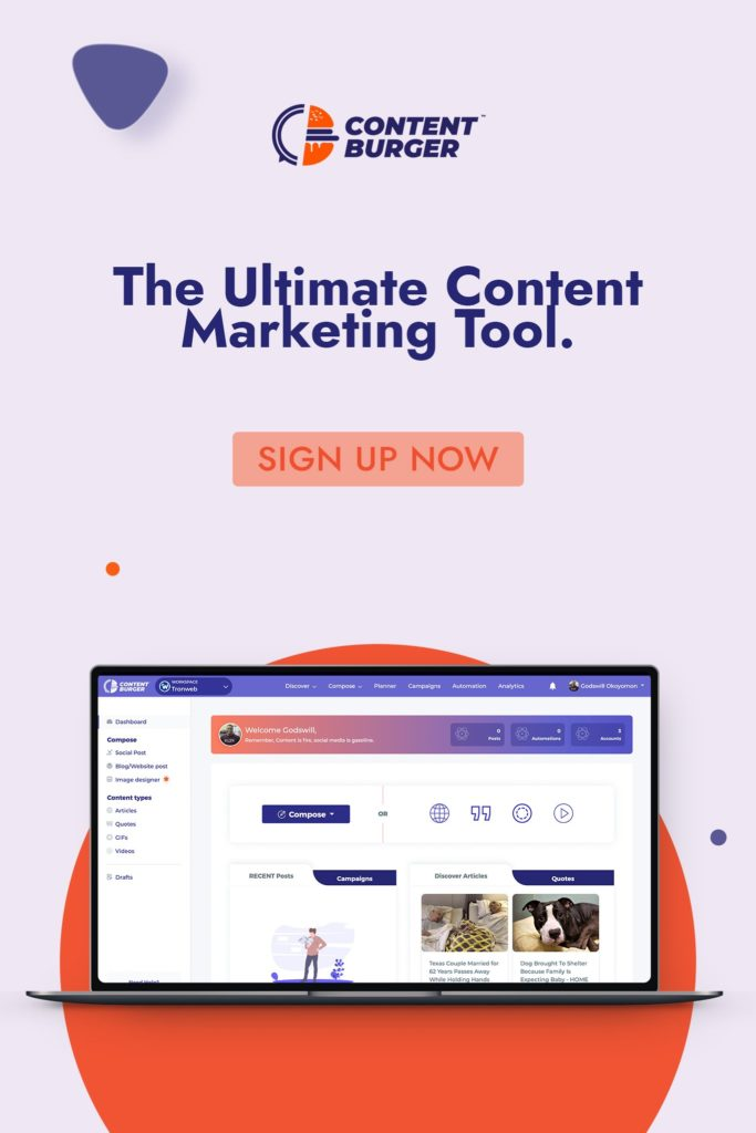 contentburger best content marketing tool
