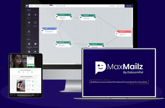 MaxMailz automate email marketing