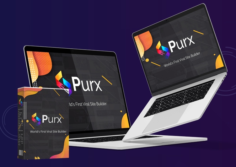 Create viral websites with Purx
