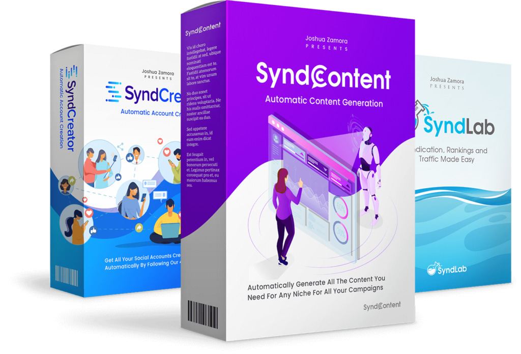 Social syndication app Syndtrio