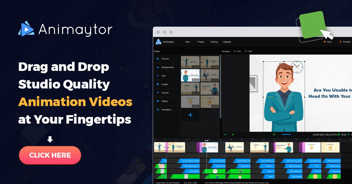 Animaytor create animated videos