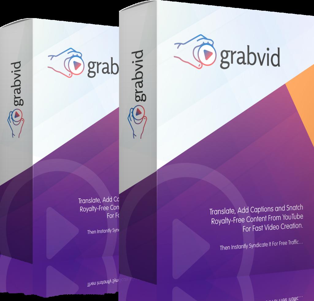 Grabvid create video content