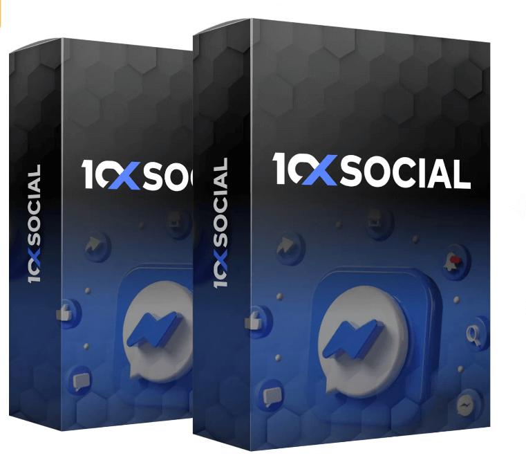 10xSocial Facebook messenger marketing app