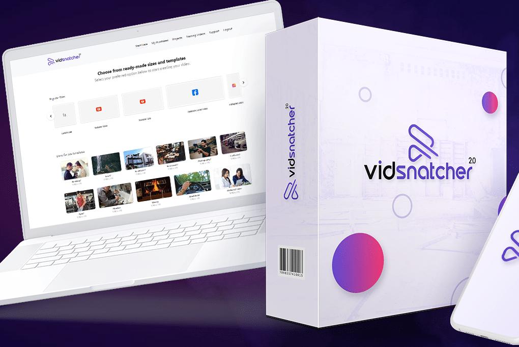 Vidsnatcher 2 - Camtasia alternative video editor