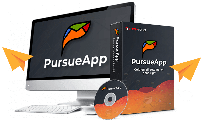 PursueApp cold email marketing app