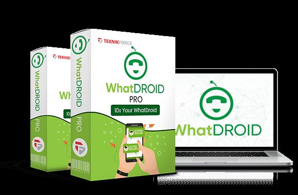 Whatdroid is the best Whatsapp marketing app